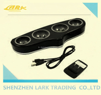 2015 newest quad charging station for ps3 move / 4 controller charging station