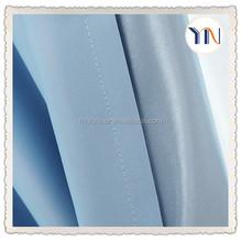 wholesale plain blue fabric balckout fabric for curtains