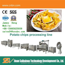automatic potato chips machine fast food for industrial