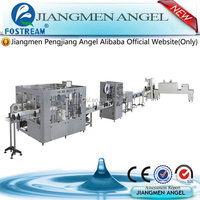 full automatic 3 in 1 used mineral water bottle filling machines