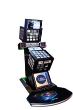 Coin operated touch screen music game machine