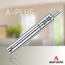 New stock! Rofvape A Plus starter kit 3000mah 18650 battery e fire vaporizer pen e hookah