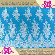 QX0058A-2(16.8) Newly Wedding Lace,Wholesale Sequin Fabric