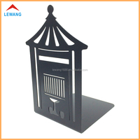 China Laser Cutting Metal Bookend ,Hollow Out Book Holder ,High Quality Book Stand