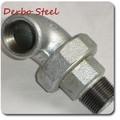Galvanizado en caliente accesorios de tubería de acero