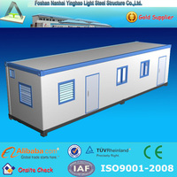 prefabricated light steel container house office