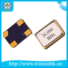Alta calidad 3225 SMD cuarzo oscilador cristal / resonador ( 3.2 x 2.5 mm )