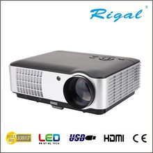 Portable projector latest projector mobile phone led projector support 1080P for Home Use Eaducation Meeting Tablet PC