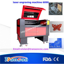 Cutting wood laser engraving machine for small industries looking for agents TS6090