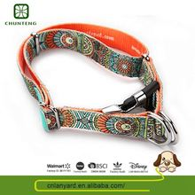 Customized Logo Printed Simple Design Animal Product Collar For Dogs Pvc
