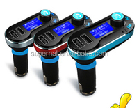 New Bluetooth Modulator Instructions Car MP3 Player with Wireless FM Transmitter
