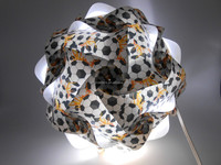 2015 NEW ARRIVAL DIY IQ Puzzle Infinity Jigsaw Lights Ideal Custom Lighting Lampshade Kit of 30 pieces