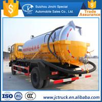High Quality 6 wheeler sewage suction truck wholesale