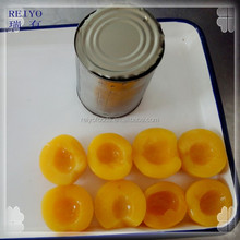 canned peaches in syrup / yellow peach / white peach