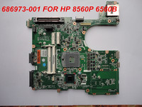 Wholesale 686973-001 for Probook 6560P 8560P laptop motherboard.Full tested