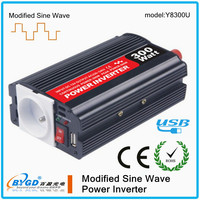 300W 24/220v 50hz modified sine wave inverter,power inverter for electric fan