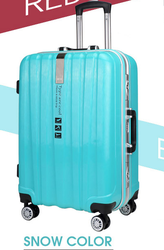 All Parts Match Color Metal Aluminum Frame Pc Luggage