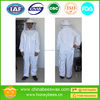 Light colored heavy duty cotton beekeeping bee protection suit