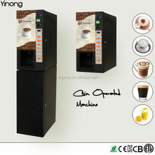 Yinong GTS103 Automatic 3 hot &3 cold drinks flavors korean coffee vending machine