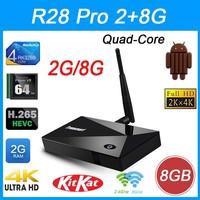 Tronsmart Orion R28 Pro Rockchip RK3288 quad-core TV Box Octa Core Android 4.4 Smart TV Box 2G/8G