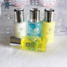 hot sale popular high quality silver cap disposable hotel shower gel bottles
