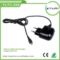 cheap price oem 5v 1a for iphone 5s charger with charging cable