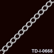 hotsale jewelry accessories matte black chain