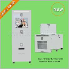 Automática de cabina de fotos de la máquina expendedora de ventas, la foto instantánea 7-12 segundos