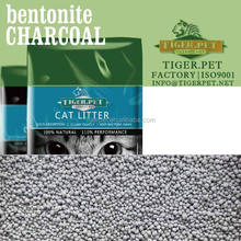 100% sodium ball shape activated charcoal bentonite kitty sand wholesale