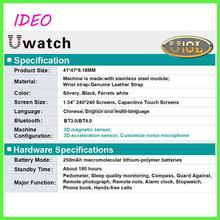 2015 3G Smart watch android 4.4 sim waterproof watch in wristwatches bluetooth GPS wifi camera mobile Watch Phone wifi