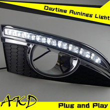 AKD Car Styling LED DRL for Chevrolet Captiva LED Daytime Running Light 2012-2014 Captiva LED Fog lamp