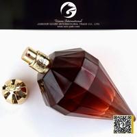 pink diamond shape perfume bottle atomizer