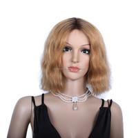 Virgin Chinese Human Hair short bob lace front wig