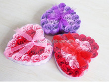 High quality Romantic gift rose flower soap