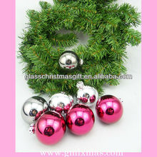 Popular in Europe,high quality christmas glass ball,low price xmas ornament,trade assurance supplier
