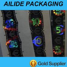 silver hot stamping transfer label maker