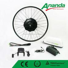 250w electric bike brushless gearless motor kit