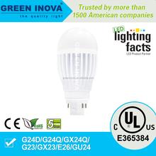 5 years warranty cULs E365384 G24 7w LED