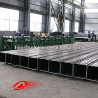 LIYE building material square mild steel pipes
