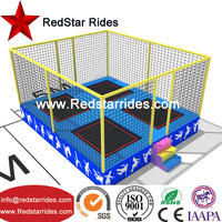 Hot selling cheap fitness equipment high quality trampoline cloth