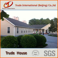 Luxury prefabricated steel villa