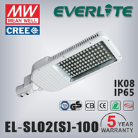 CE ROHS approved Aluminum Shell LED lamp 100w street light