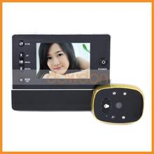 "3.5"" LCD Digital Peephole Viewer 120 Degree Door Eye Doorbell Video Color IR Camera"