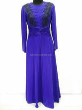 Stitched Night Dress Multicolor Abaya Stitching Design Fitting Kaftan Abaya With Diamond Islamic Clothing Jubah Abaya