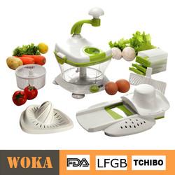 Hot Selling Plastic Chopped Manual Salad Maker, Plastic Master Slicer