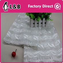 wholesale kiss fabric organza lace embroidery designs