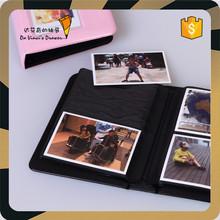 Pink Color Fashion Design Shining PVC Cover Photo Album for 6*8.5cm photo