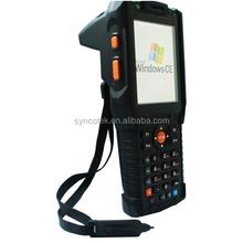 UHF RFID Handheld Reader With RFID Software (IP65,WIN CE 6.0 WIFI,GPRS,GPS) Handheld With SDK