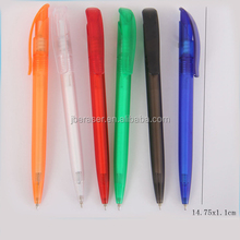 printed customized twist style usual plastic ball pen