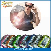 (Hot) led armband for Samsung galaxy S5/S6, armband case, phone armband